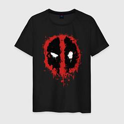Мужская футболка Deadpool logo