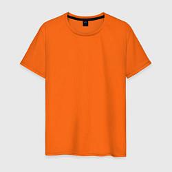 Футболка хлопковая мужская Волгоград EVLTN цвета оранжевый — фото 1