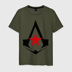 Мужская футболка Русский ассассин