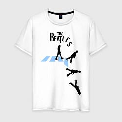 Футболка хлопковая мужская The Beatles: break down цвета белый — фото 1
