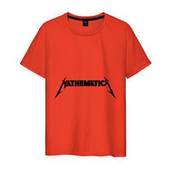 Мужская футболка Mathematica (Математика)