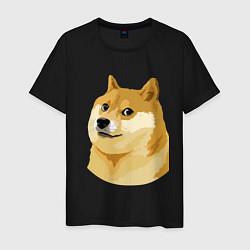 Мужская футболка Doge