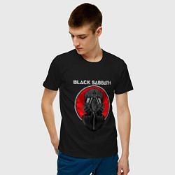 Футболка хлопковая мужская Black Sabbath: Toxic цвета черный — фото 2