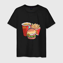 Мужская футболка Фастфуд
