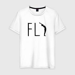 Мужская футболка Yoga Fly
