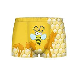 Трусы-боксеры мужские Веселая пчелка цвета 3D — фото 1