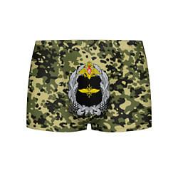 Трусы-боксеры мужские Войска связи цвета 3D — фото 1