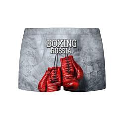 Трусы-боксеры мужские Boxing Russia цвета 3D-принт — фото 1