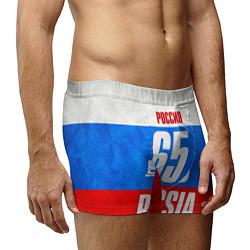 Трусы-боксеры мужские Russia: from 65 цвета 3D-принт — фото 2