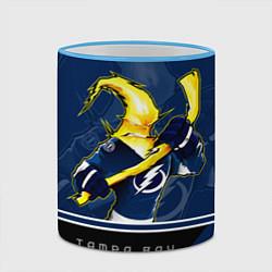 Кружка 3D Bay Lightning цвета 3D-небесно-голубой кант — фото 2