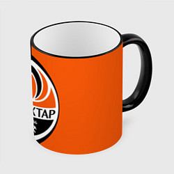 Кружка 3D ФК Шахтер Донецк цвета 3D-черный кант — фото 1