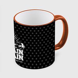 Кружка 3D No Pain No Gain цвета 3D-оранжевый кант — фото 1