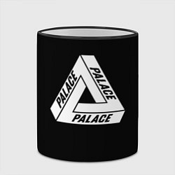 Кружка 3D Palace цвета 3D-черный кант — фото 2