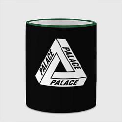 Кружка 3D Palace цвета 3D-зеленый кант — фото 2