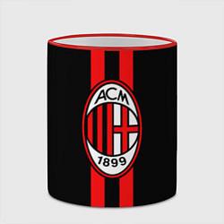 Кружка 3D AC Milan 1899 цвета 3D-красный кант — фото 2