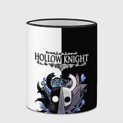 Кружка 3D Hollow Knight Black & White цвета 3D-черный кант — фото 2