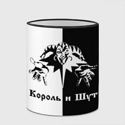 Кружка 3D Король и Шут цвета 3D-черный кант — фото 2