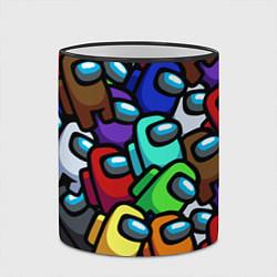 Кружка 3D Among us цвета 3D-черный кант — фото 2