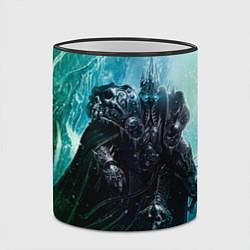 Кружка 3D Король Лич цвета 3D-черный кант — фото 2