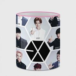 Кружка 3D EXO Boys цвета 3D-розовый кант — фото 2