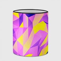 Кружка 3D Texture цвета 3D-черный кант — фото 2