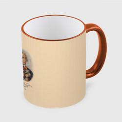 Кружка 3D Александр Суворов 1730-1800 цвета 3D-оранжевый кант — фото 1