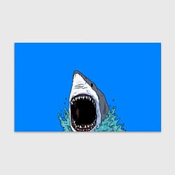 Бумага для упаковки Акулий рык цвета 3D-принт — фото 1