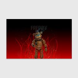 Бумага для упаковки FNAF FREDDY цвета 3D-принт — фото 1