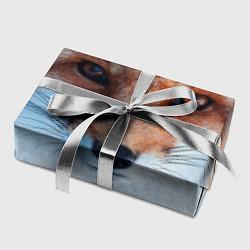 Бумага для упаковки Взгляд лисы цвета 3D — фото 2