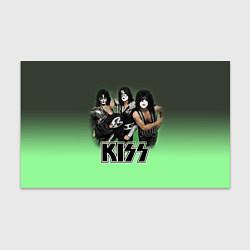 Бумага для упаковки Kiss цвета 3D-принт — фото 1