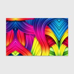 Бумага для упаковки Абстракция цвета цвета 3D — фото 1
