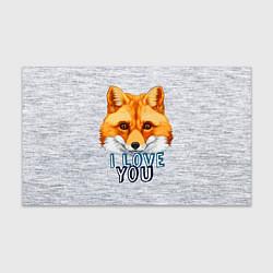 Бумага для упаковки Милая лисичка! цвета 3D — фото 1