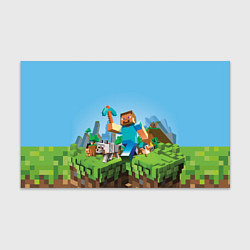 Бумага для упаковки Minecraft Summer цвета 3D — фото 1