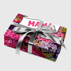 Бумага для упаковки Маме цвета 3D — фото 2