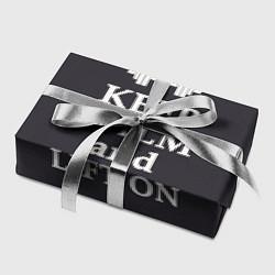 Бумага для упаковки Keep Calm & Lift On цвета 3D — фото 2