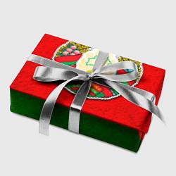 Бумага для упаковки Герб Беларуси цвета 3D — фото 2