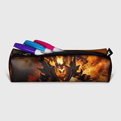 Пенал для ручек Nevermore Hell цвета 3D-принт — фото 2