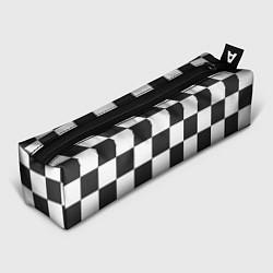 Пенал для ручек Шахматка цвета 3D-принт — фото 1