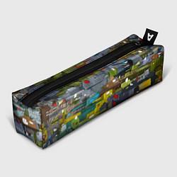 Школьный пенал с принтом Геранд шоп-Мир танков, цвет: 3D, артикул: 10220788305837 — фото 1