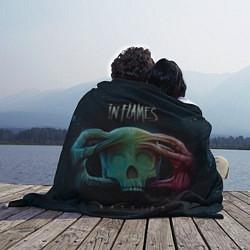 Плед флисовый In Flames: Battles цвета 3D-принт — фото 2