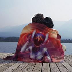 Плед флисовый DJ Sona: LoL цвета 3D — фото 2