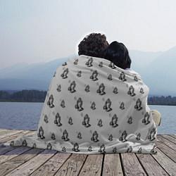 Плед флисовый Drake - six цвета 3D — фото 2