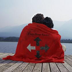 Плед флисовый Three Days Grace цвета 3D — фото 2