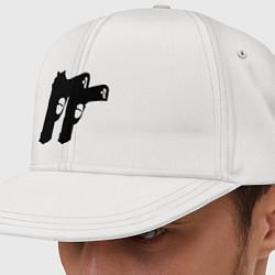Кепка снепбек Пистолеты