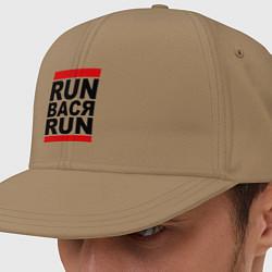 Кепка-снепбек Run Вася Run цвета миндальный — фото 1