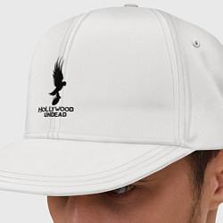 Кепка-снепбек Hollywood Undead цвета белый — фото 1