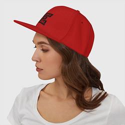 Кепка-снепбек Very nice girl цвета красный — фото 2