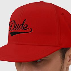 Кепка-снепбек Hey, Dude! цвета красный — фото 1
