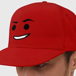 Кепка-снепбек Emmet цвета красный — фото 1