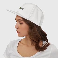 Кепка-снепбек Brazzers цвета белый — фото 2